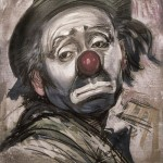 Emmett Kelly sad clown