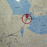 You Are Here: Middle Village location MTA map