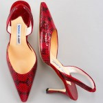 Manolo Blahnik shoes--NOT the ones in the story