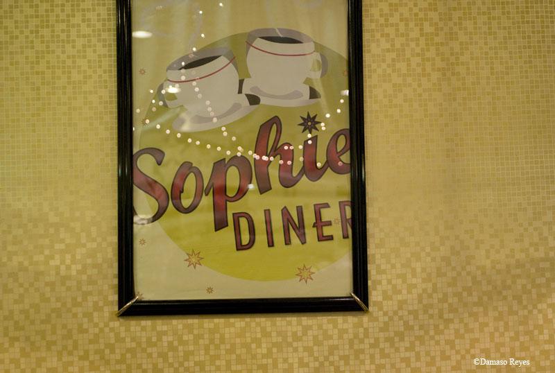 """Sophie's interior sign """"Sophie"""""""