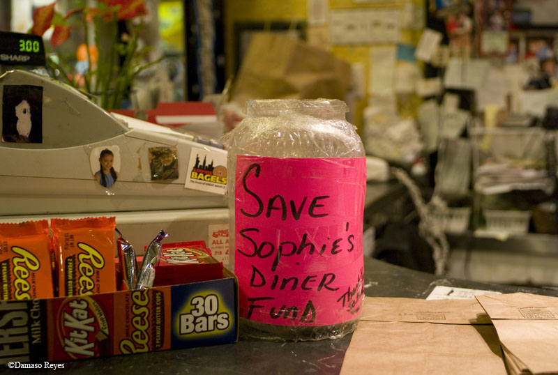 Save Sophie's collection jar