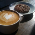 Sweetleaf LIC coffee and pastry