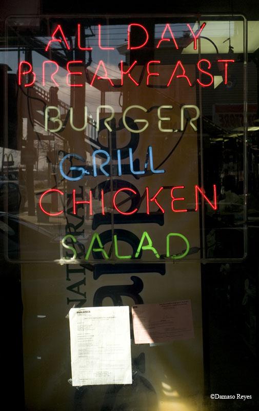 Burger Grill Chicken Salad
