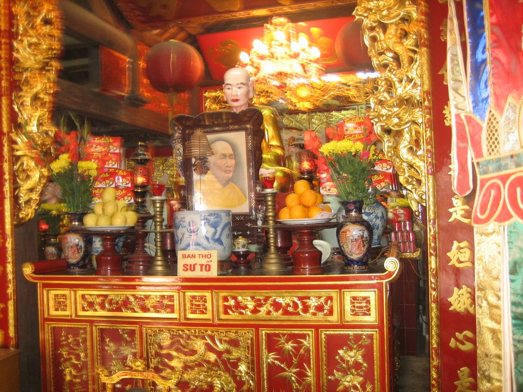 Shrine in Hanoi