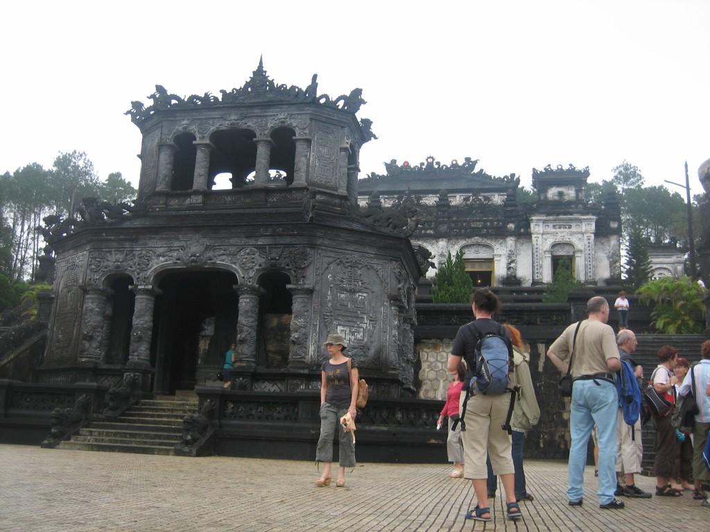 Tomb exterior
