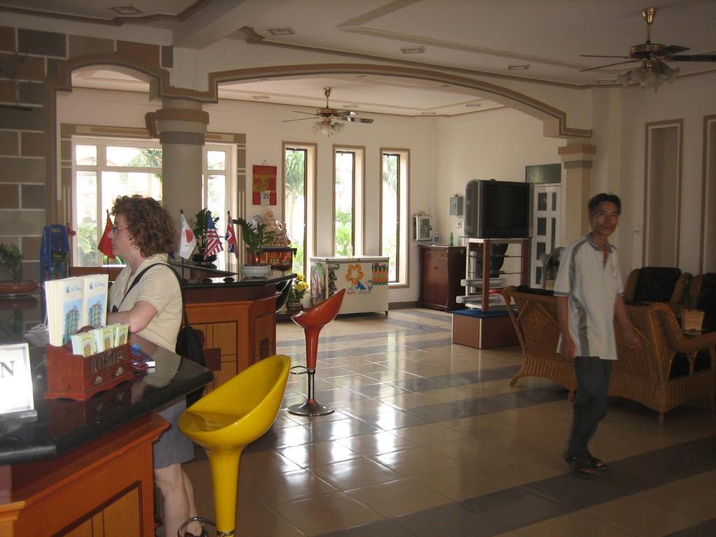 Hotel lobby Phan Rang