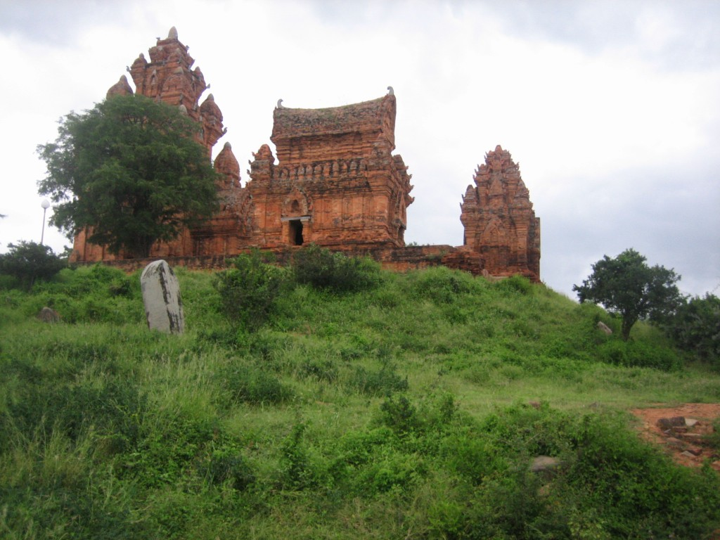 Cham towers