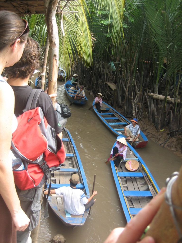 Boats on Mekong