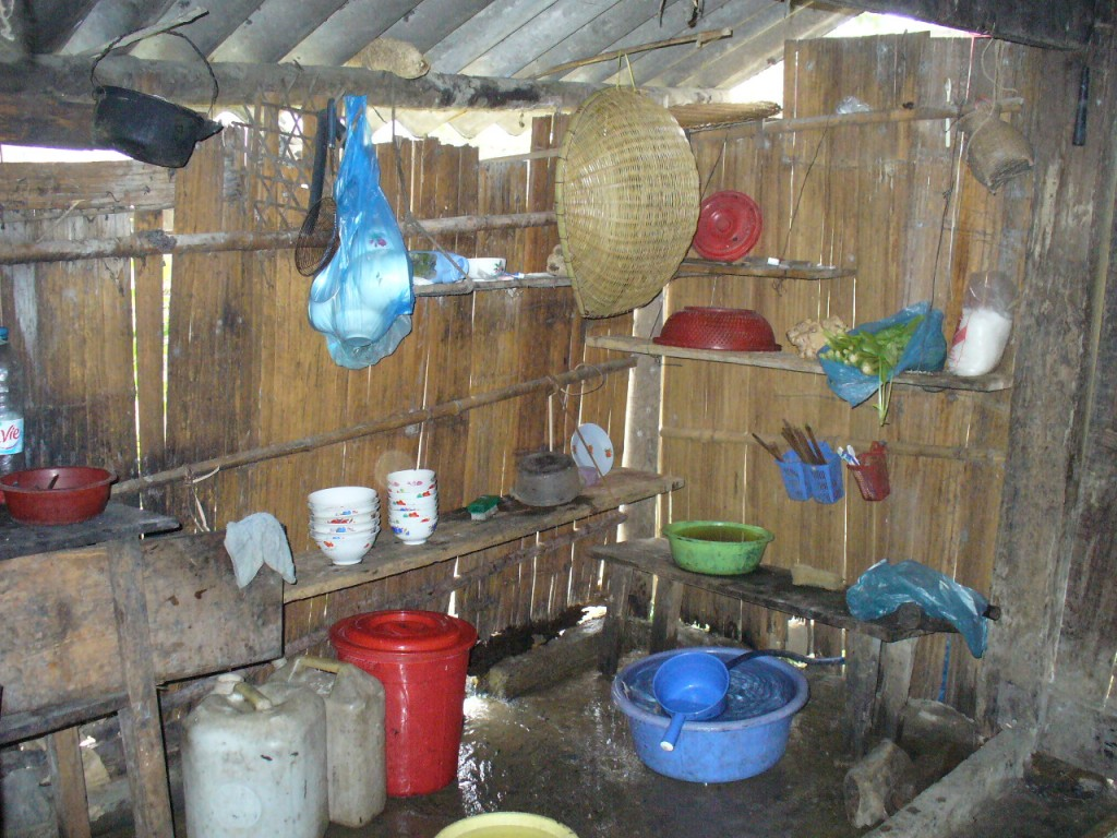 Homestay kitchen