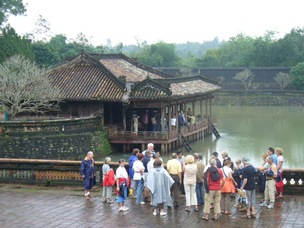 Nguyen king's tomb