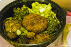 Starch and greens