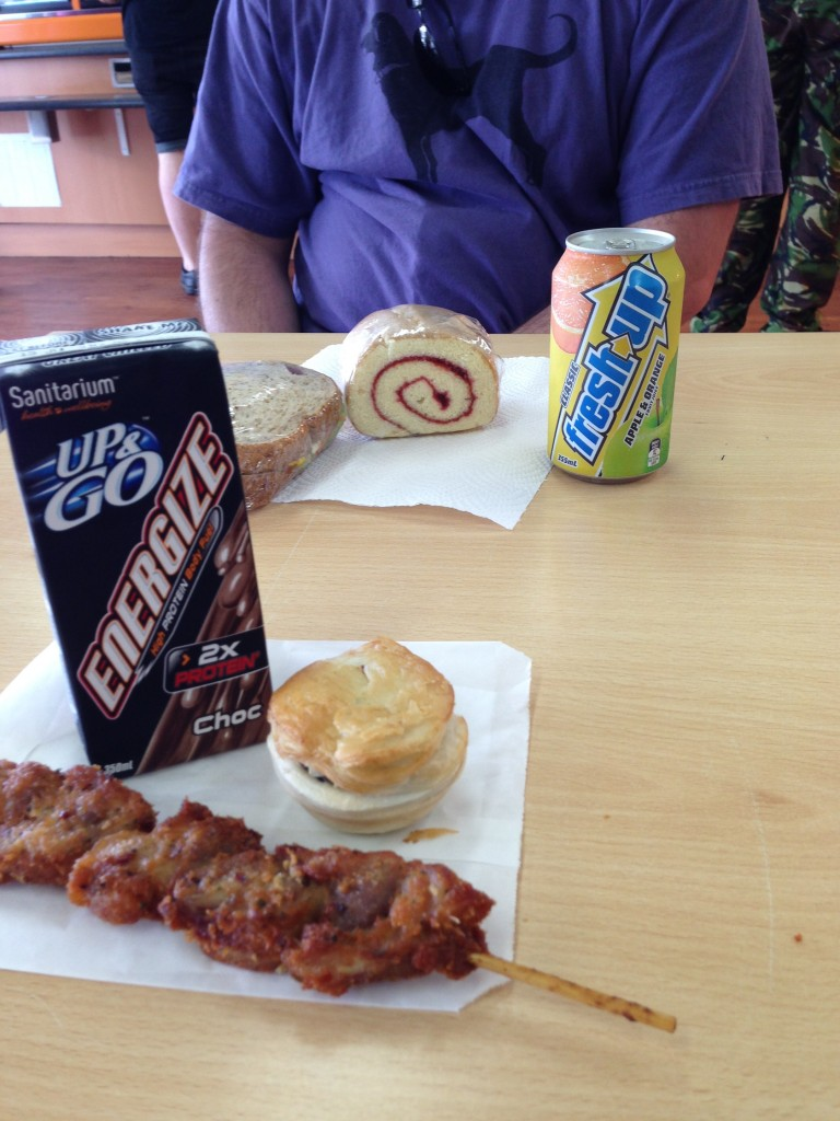 Gross road lunch, NZ