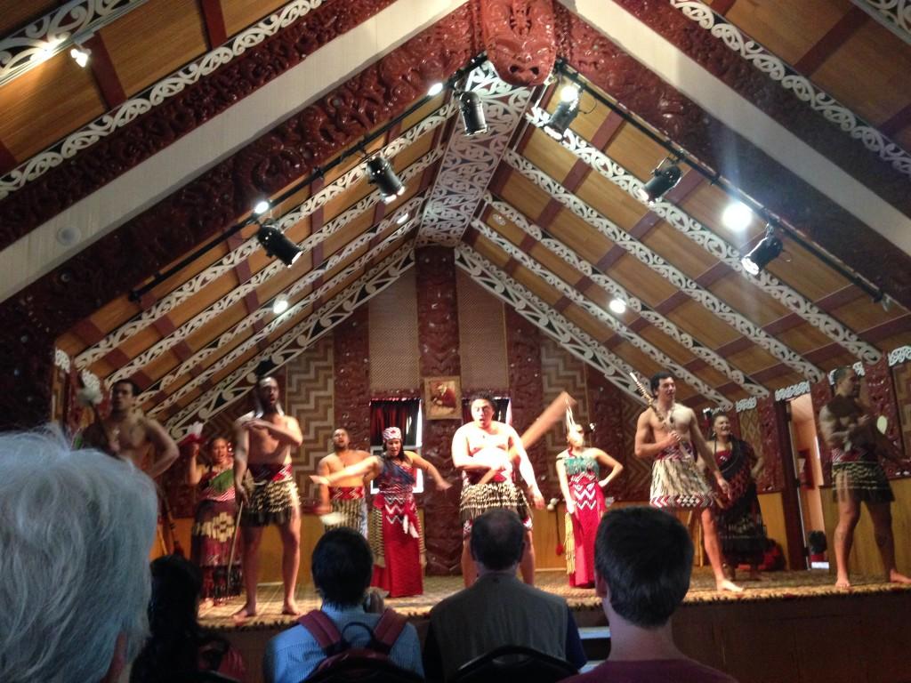 Maori performance, Rotorua, NZ