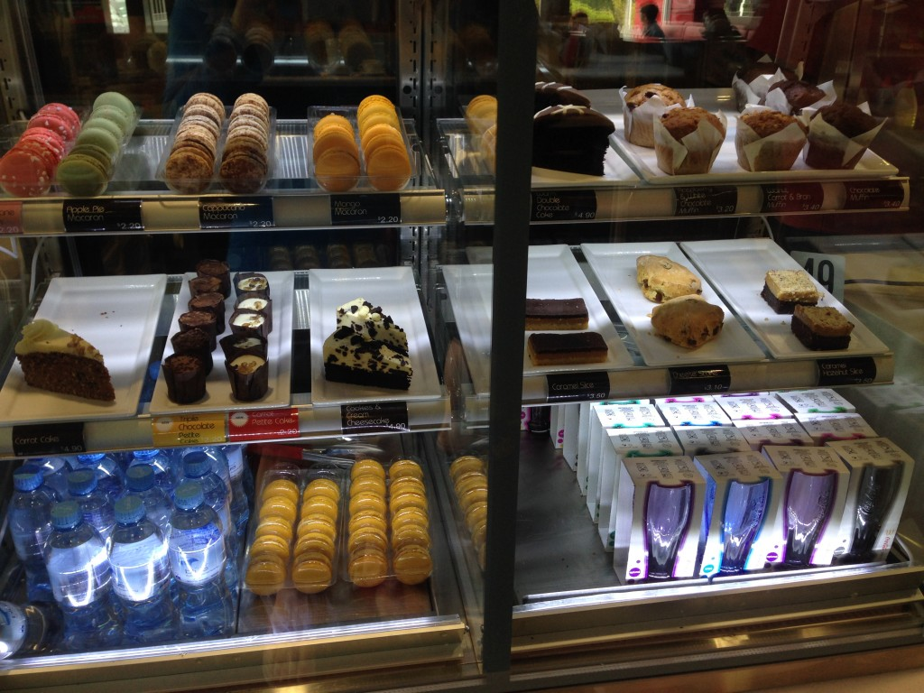 Pastries at McDonald's, NZ