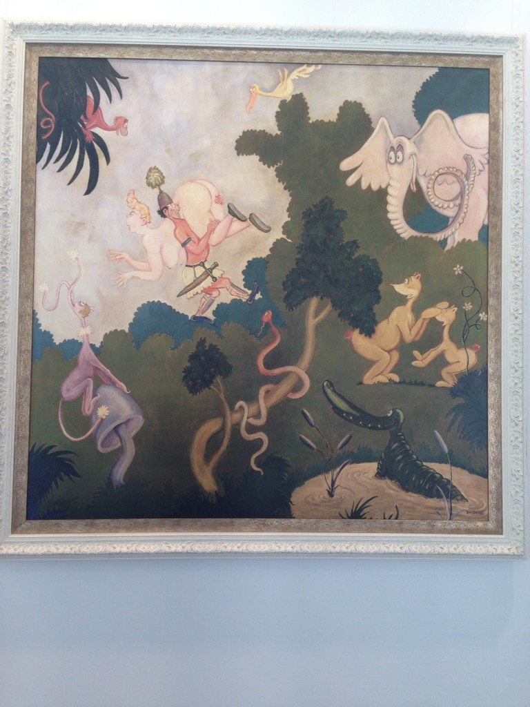 Dr. Seuss art, gallery, Wellington, NZ