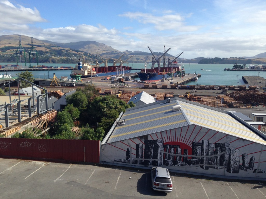 Corsair Bay, Lyttelton, NZ