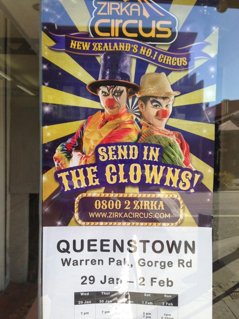 Zirka Circus, NZ