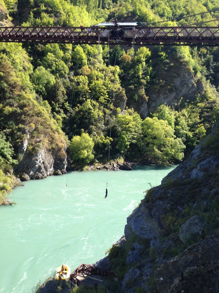 Bungy jumping, Kawarau Bridge, NZ