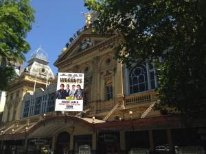 Theater facade, Melbourne, Australia