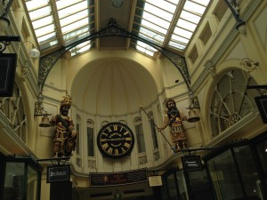 Royal Arcade interior, Melbourne, Australia