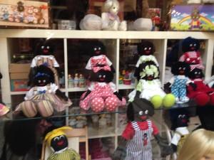 Golliwog dolls, Melbourne, Australia