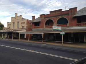 Small town, Australia