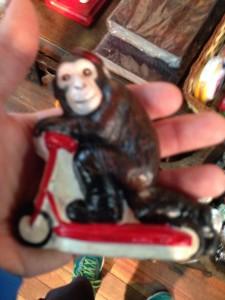 Monkey with fez