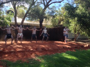 Aborigine dancers, Uluru, NT, Australia