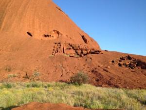 Uluru boulders