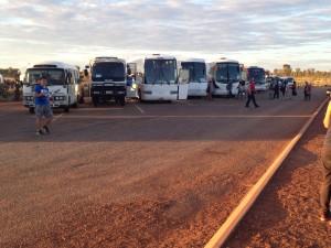 Uluru tour buses