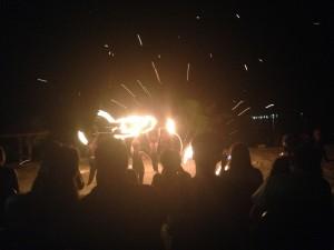 Vanua Fire sparks