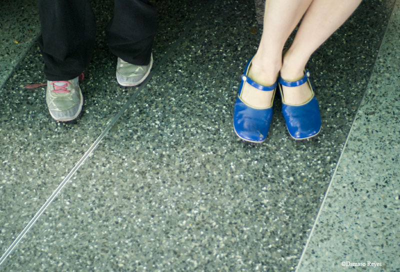 Shoes: Eden's and Viveca's