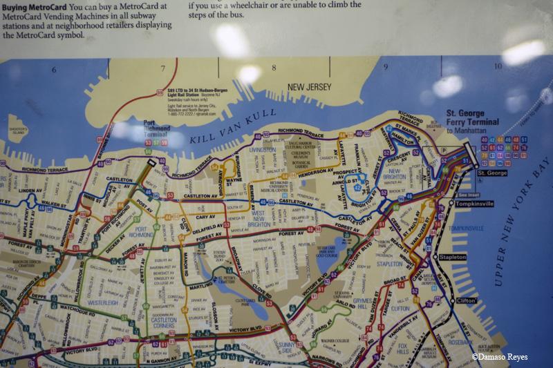 MTA area map