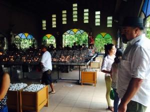 Baclaran church candle room