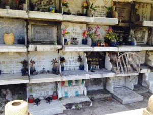 Chinese cemetery crypts