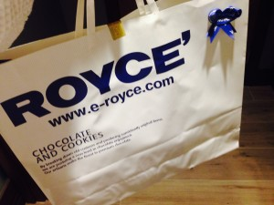 Hotel gift bag