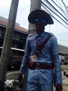 Intramuros guard