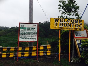 Welcome to Bontoc