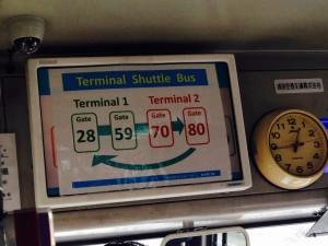 Narita bus instructions