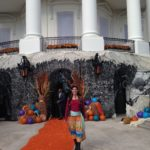 Viveca at White House Halloween party 2015